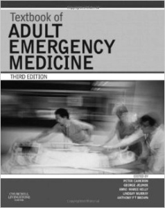 Photo of 'Textbook of Adult Emergency Medicine 3rd edition'